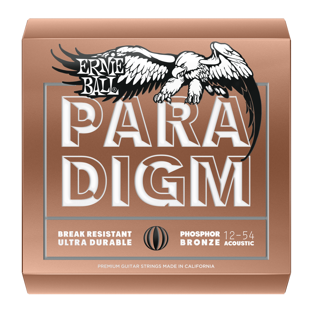 ERNIE BALL・PARADIGM PHOSPHOR BRONZE(.012-.054)