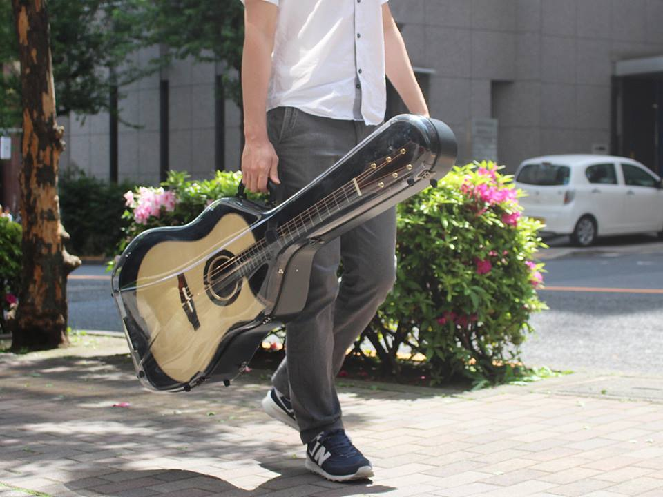 "【予約商品】Aranjuez Guitar Case ""Clear"" for Dreadnought"