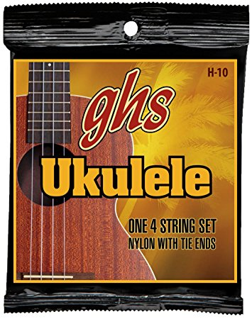GHS UK Strings・H-10・Black Nylon(2pcs)