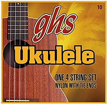 GHS UK Strings・10・Clear Nylon(2pcs)