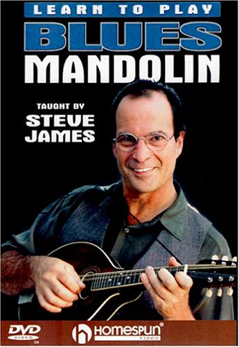 LEARN TO PLAY BLUES MANDOLIN:STEVE JAMES