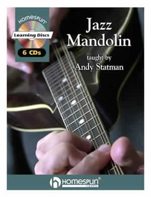 ANDY STATMAN JAZZ MANDOLIN(CD6枚+TAB譜)
