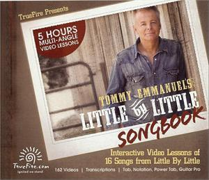 TOMMY EMMANUEL - Little By Little SONGBOOK (教則CD-ROM/TAB譜)