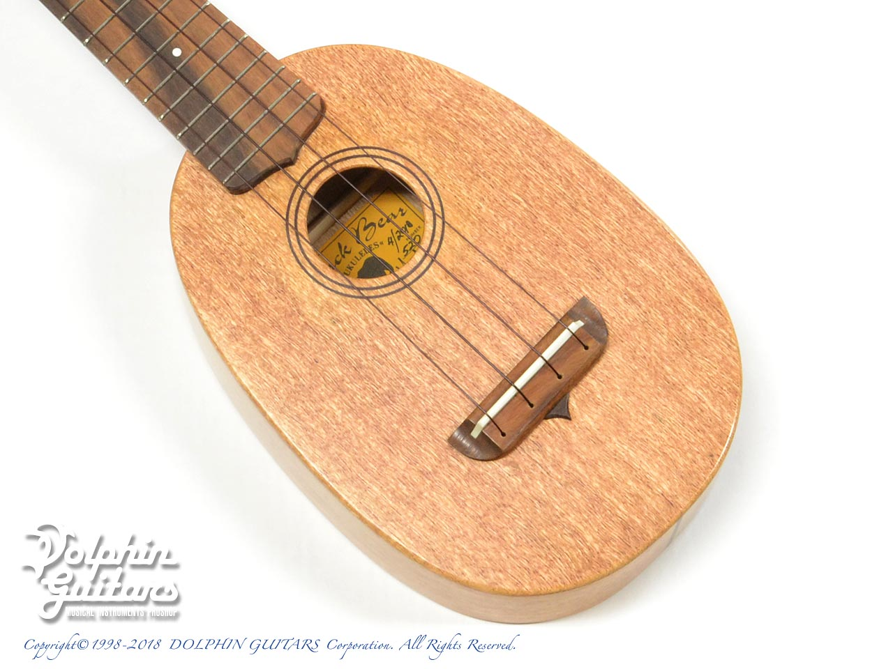 Black Bear Ukulele:Sopranino Pineapple