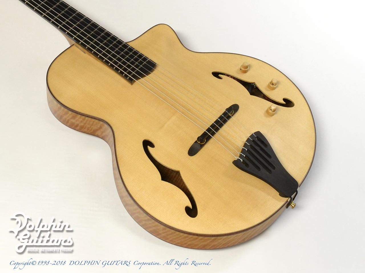 Borghino Guitars:BB1 Archtop with Nylon strings