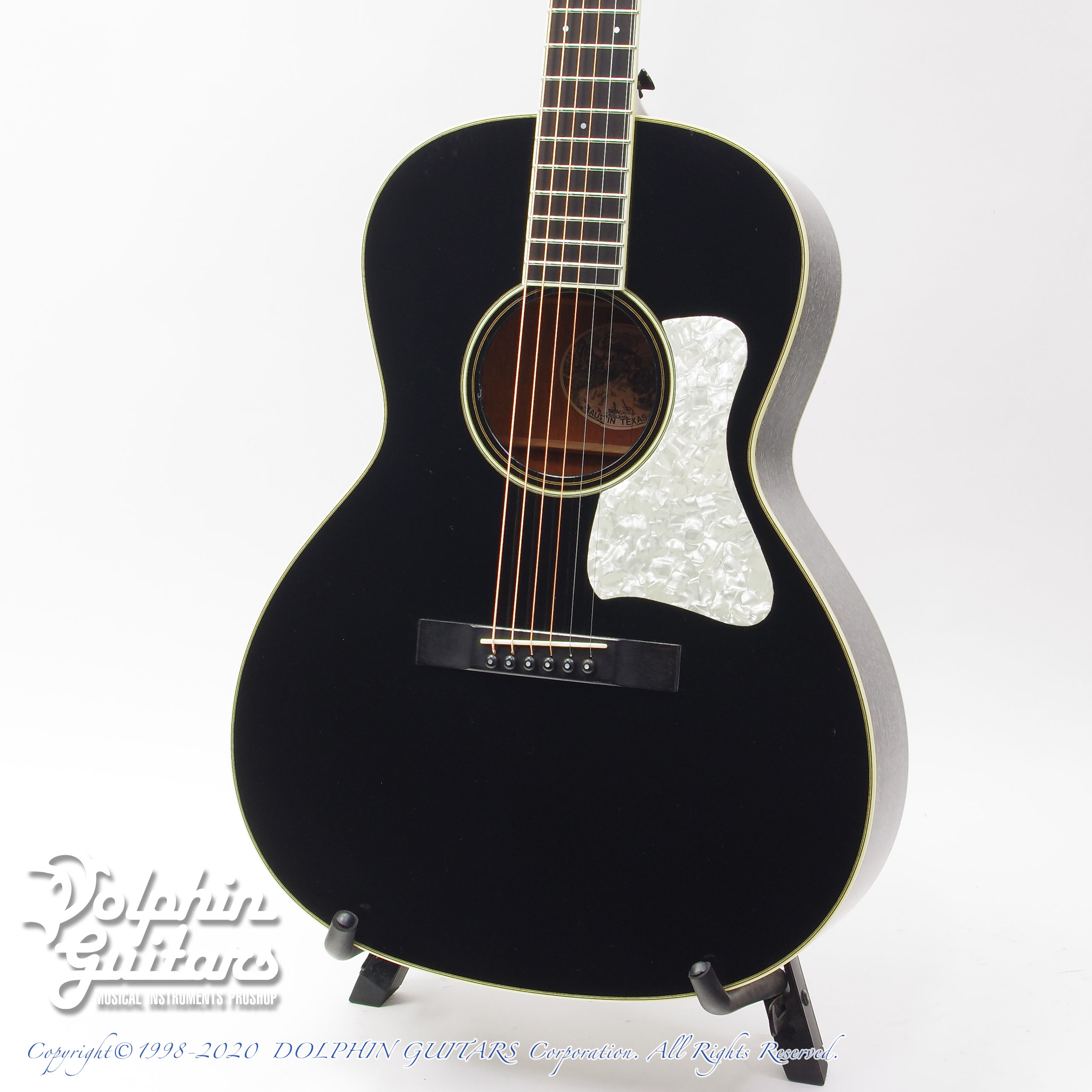 COLLINGS:C-10 Deluxe Jet Black Doghair