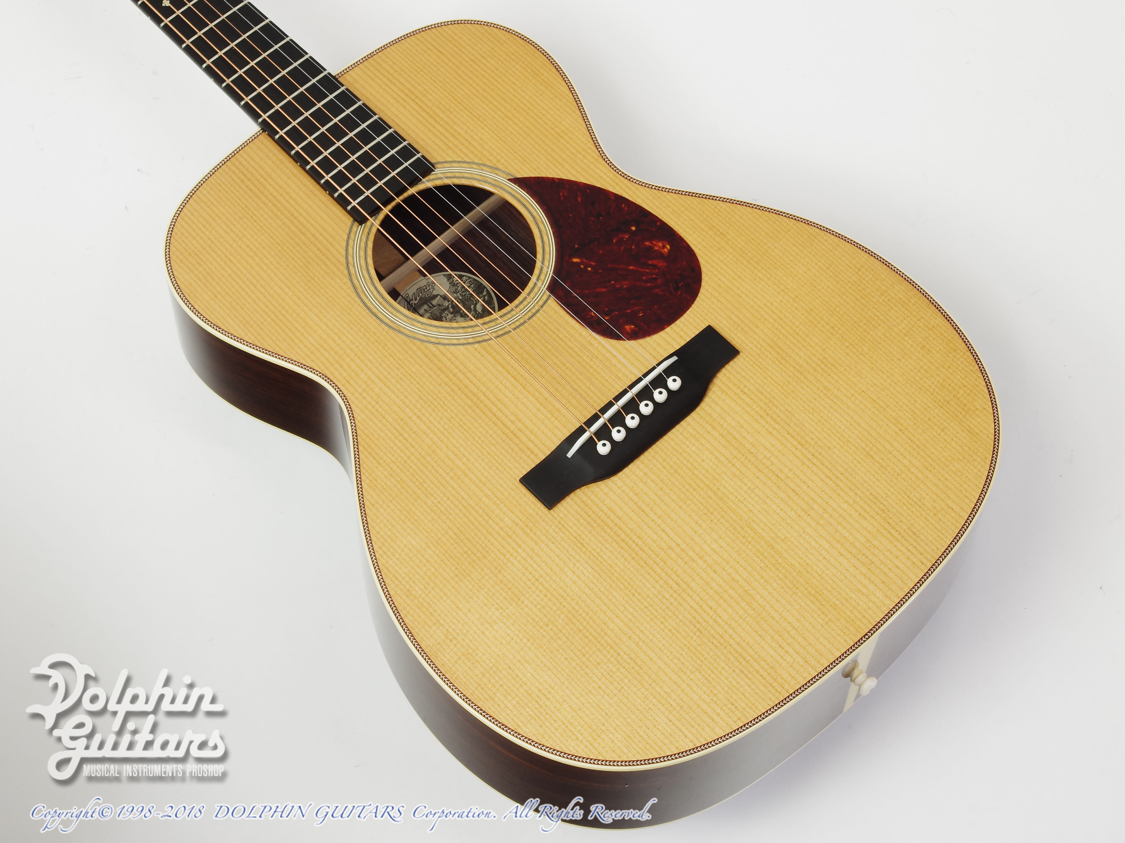 COLLINGS:OM-2H Traditional (Torrefied Sitka Spruce)