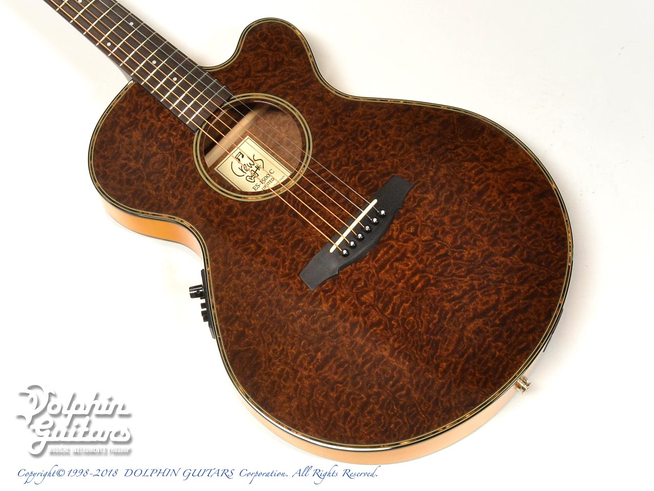 CREWS:ES-1500C Limited (Burl Mahogany) (Yellow)