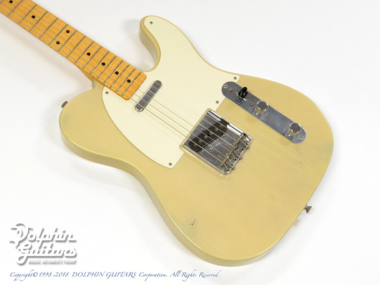 FENDER USA:Custom Shop 50's Telecaster Closet Classic Pine (VBL)(Paul Waller)