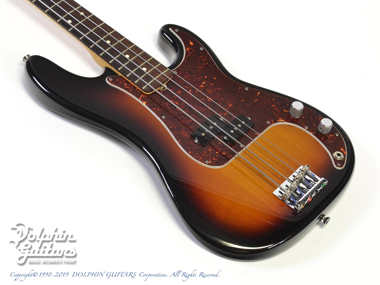 FENDER USA:American Standard Precision Bass (3CS)