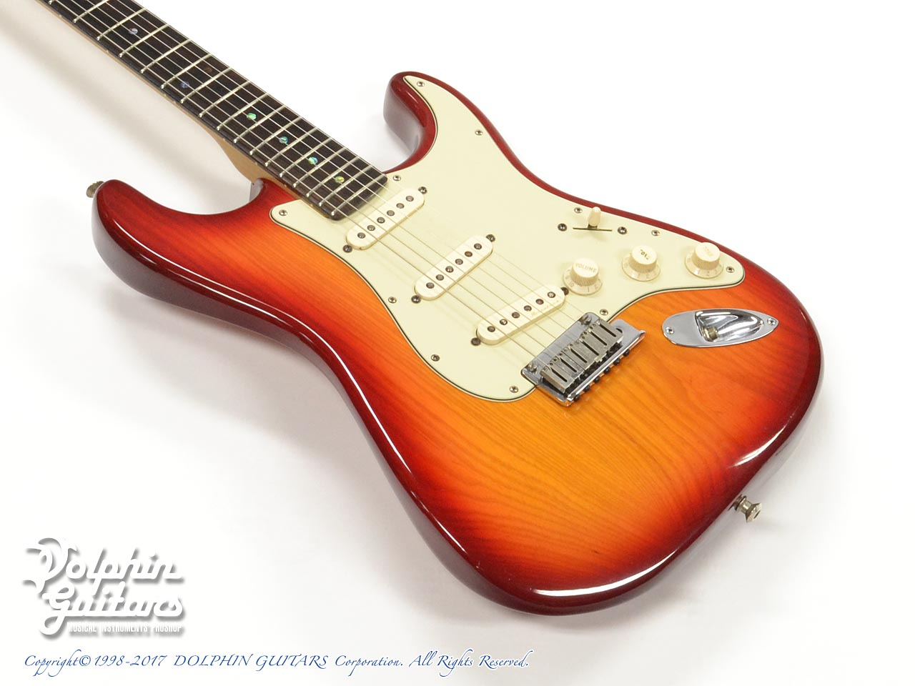 FENDER USA:American Deluxe Stratocaster Ash