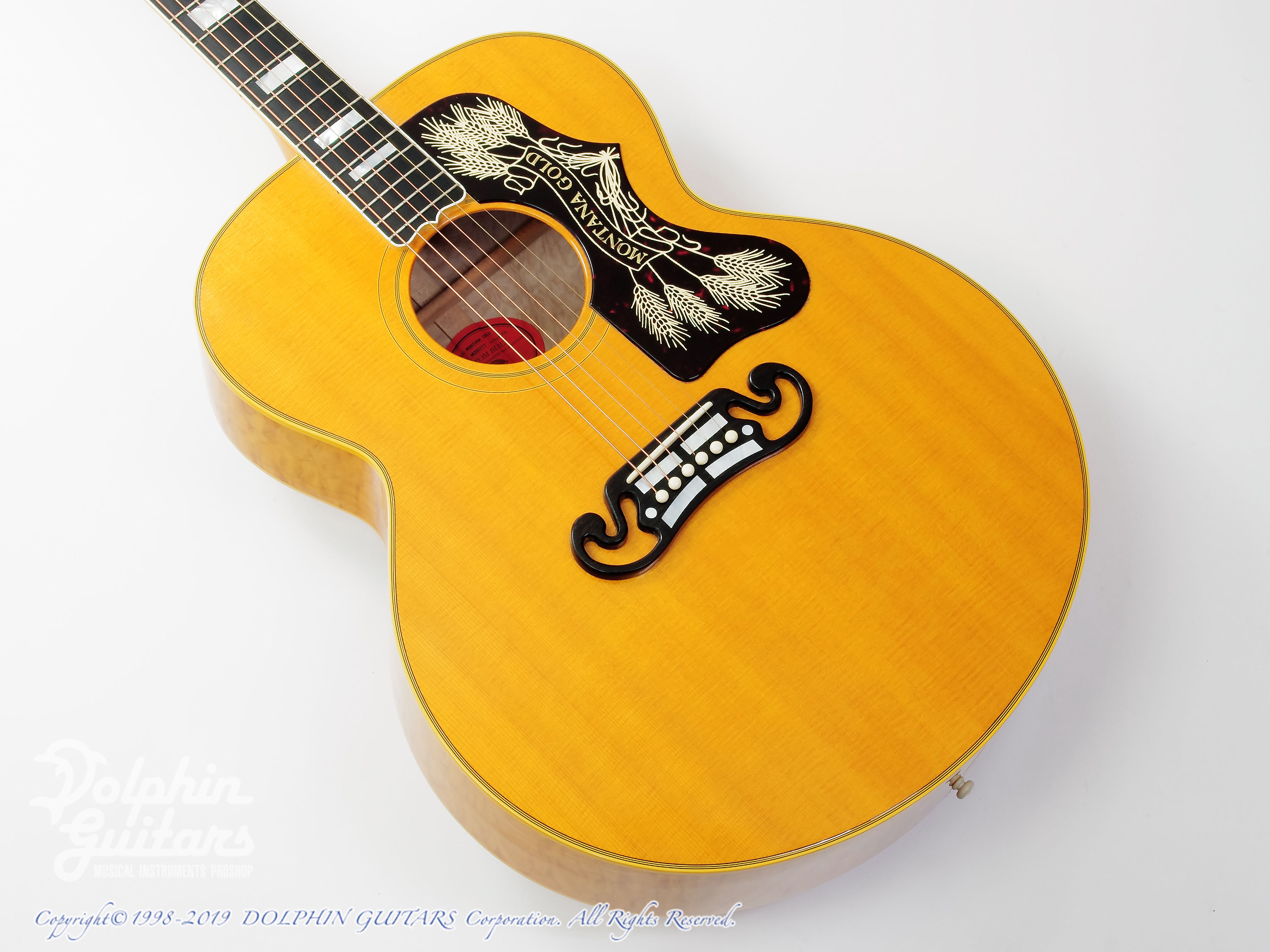 Gibson:SJ-200 Montana Gold (Quilted Maple)
