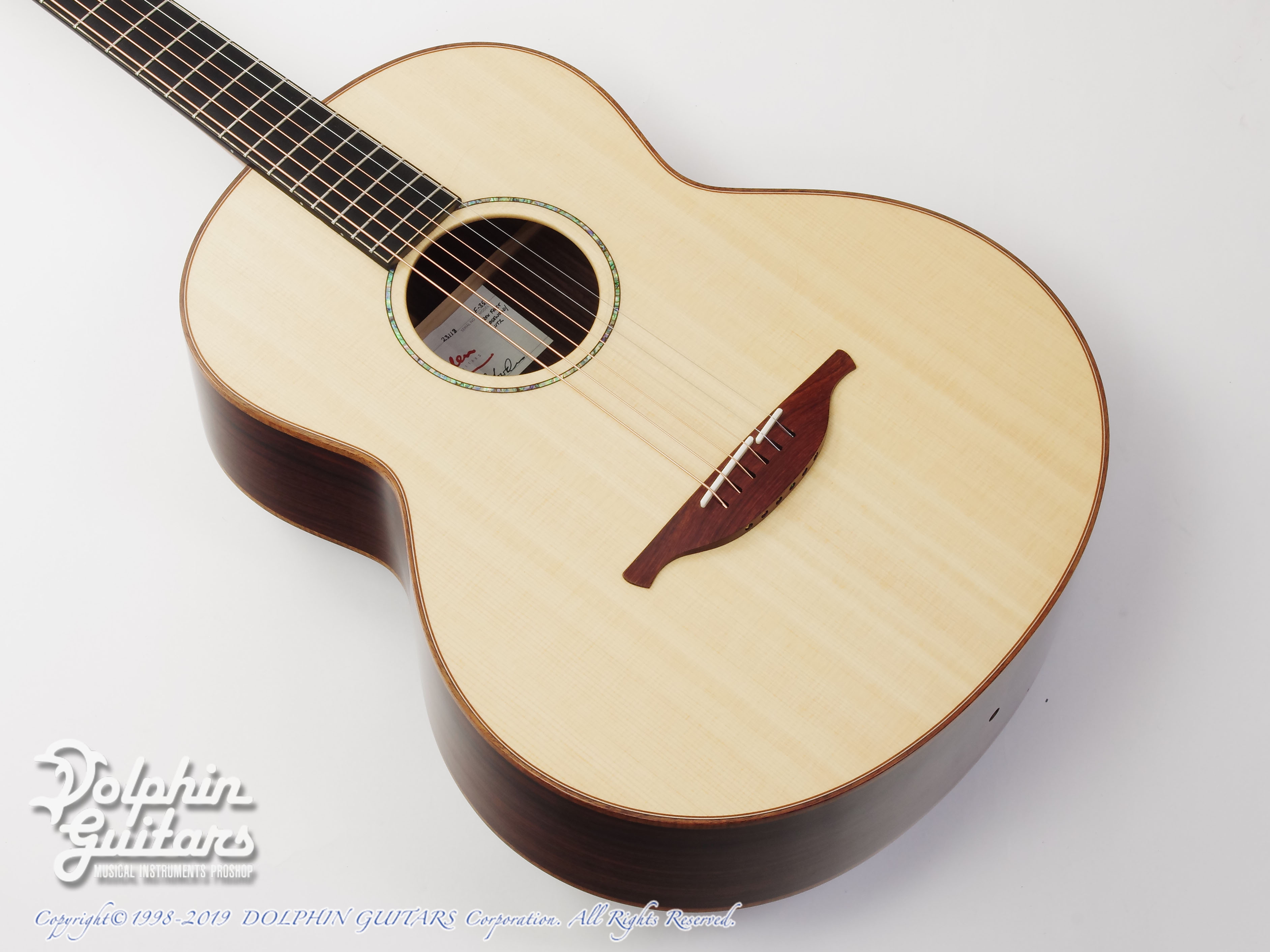 LOWDEN:F-35 12 Fret IR / LZ (New for 2019)