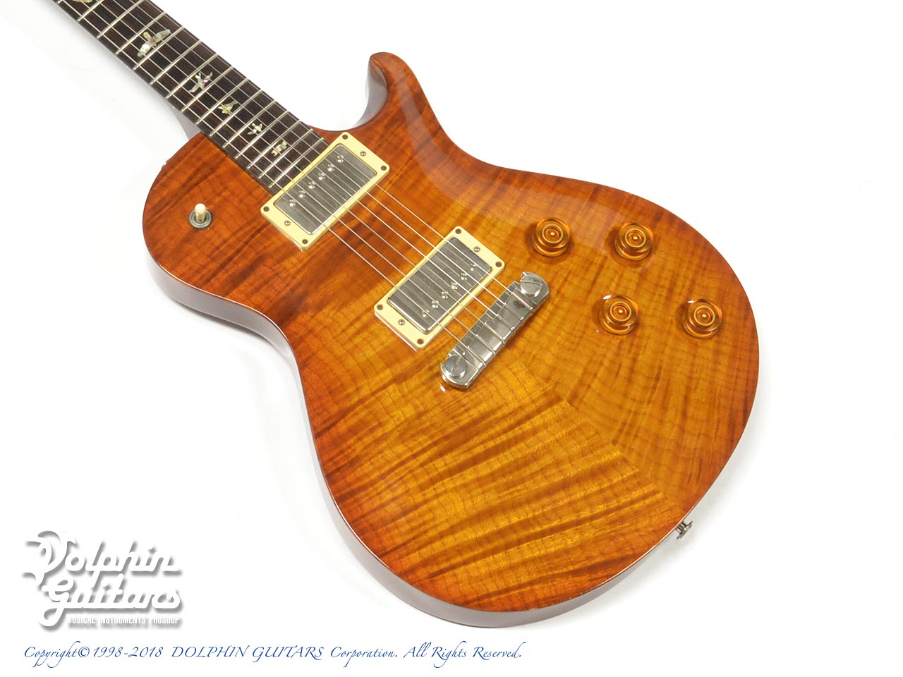 PAUL REED SMITH:Single Cut 10top (Violin Amber Burst)