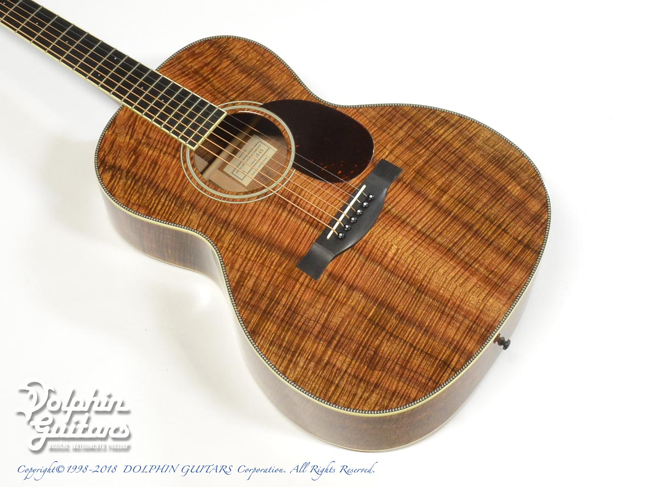 SANTA CRUZ:H Model Koa (All Hawaiian Koawood)