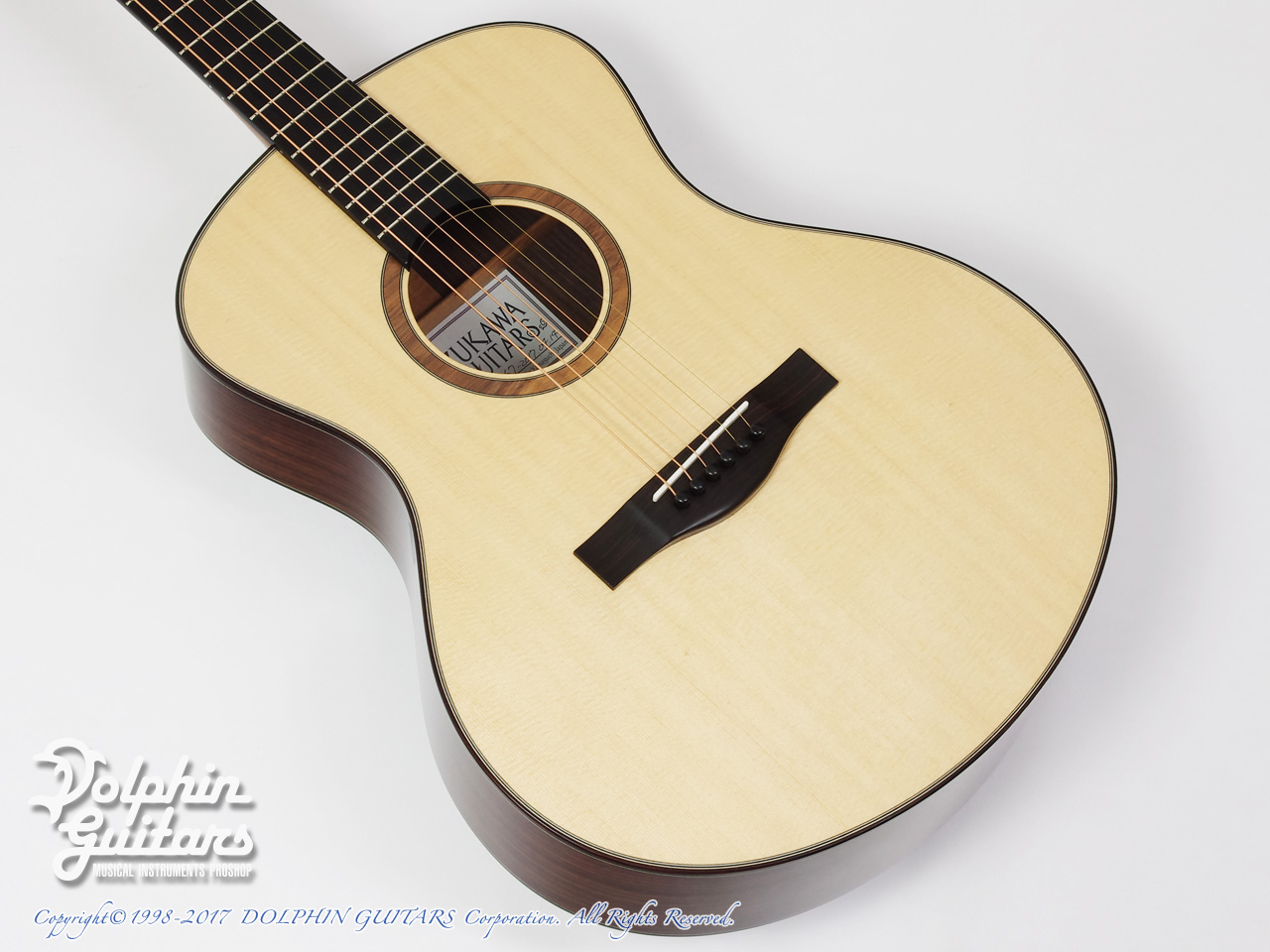 SUZUKAWA GUITARS:OM-03 (Short Scale)