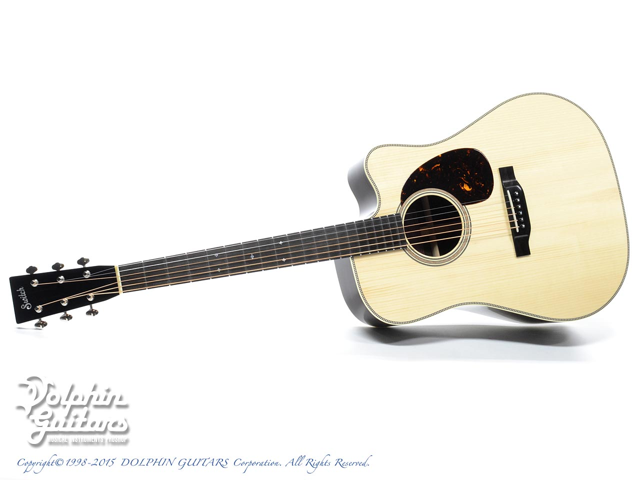 SWITCH SCD-2HC A (Adirondack Spruce & Indian Rosewood)