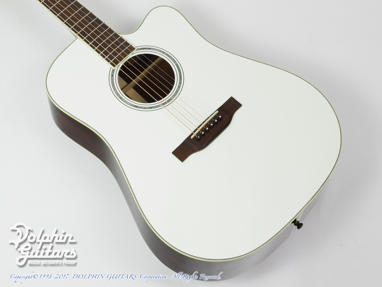 SWITCH: SCD-3C A-Caa Limited (Adirondack Spruce & Cocobolo) (Pearl White Face)