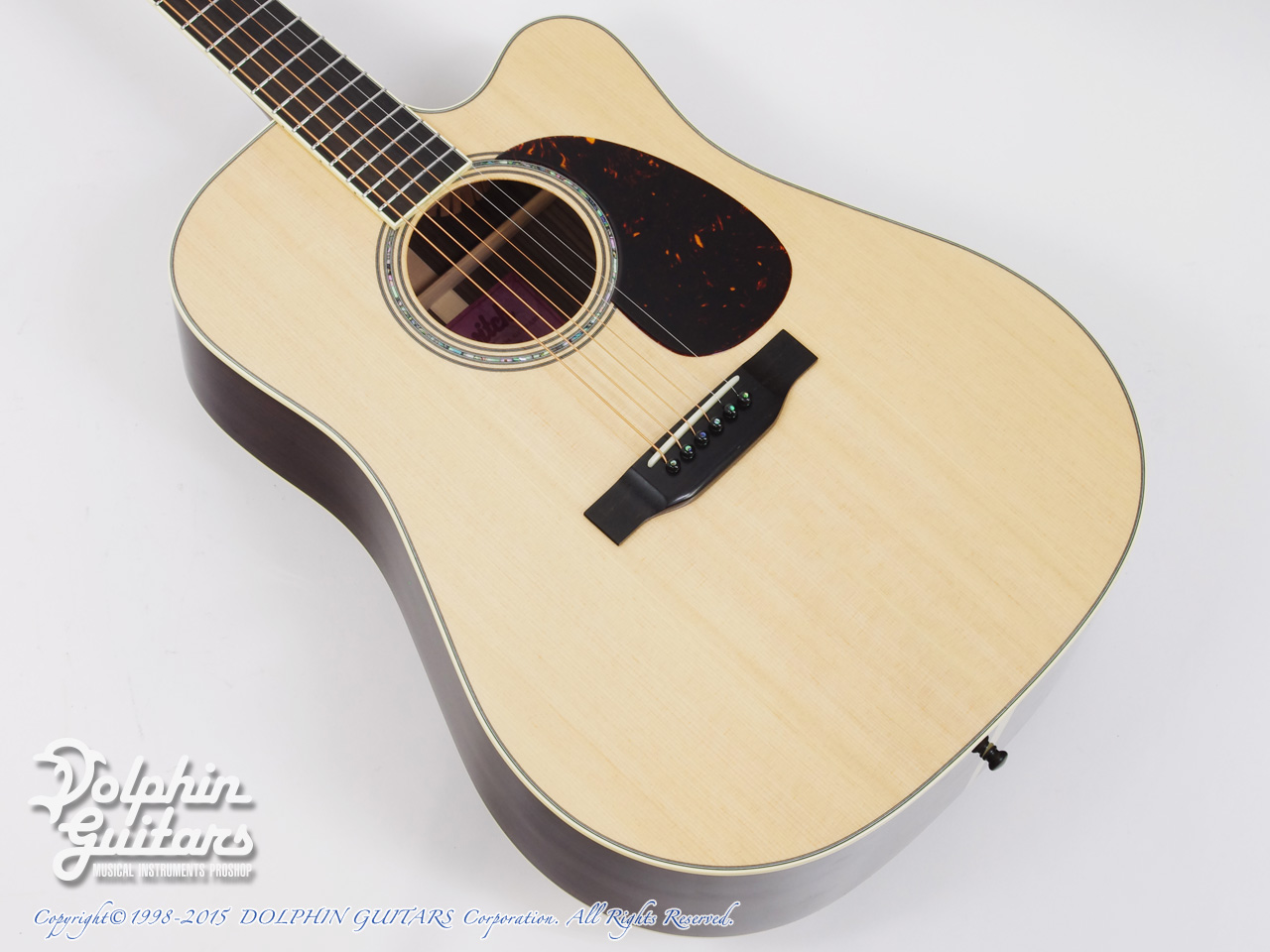 SWITCH: SCD-3C (Sitka Spruce AAA & Indian Rosewood)
