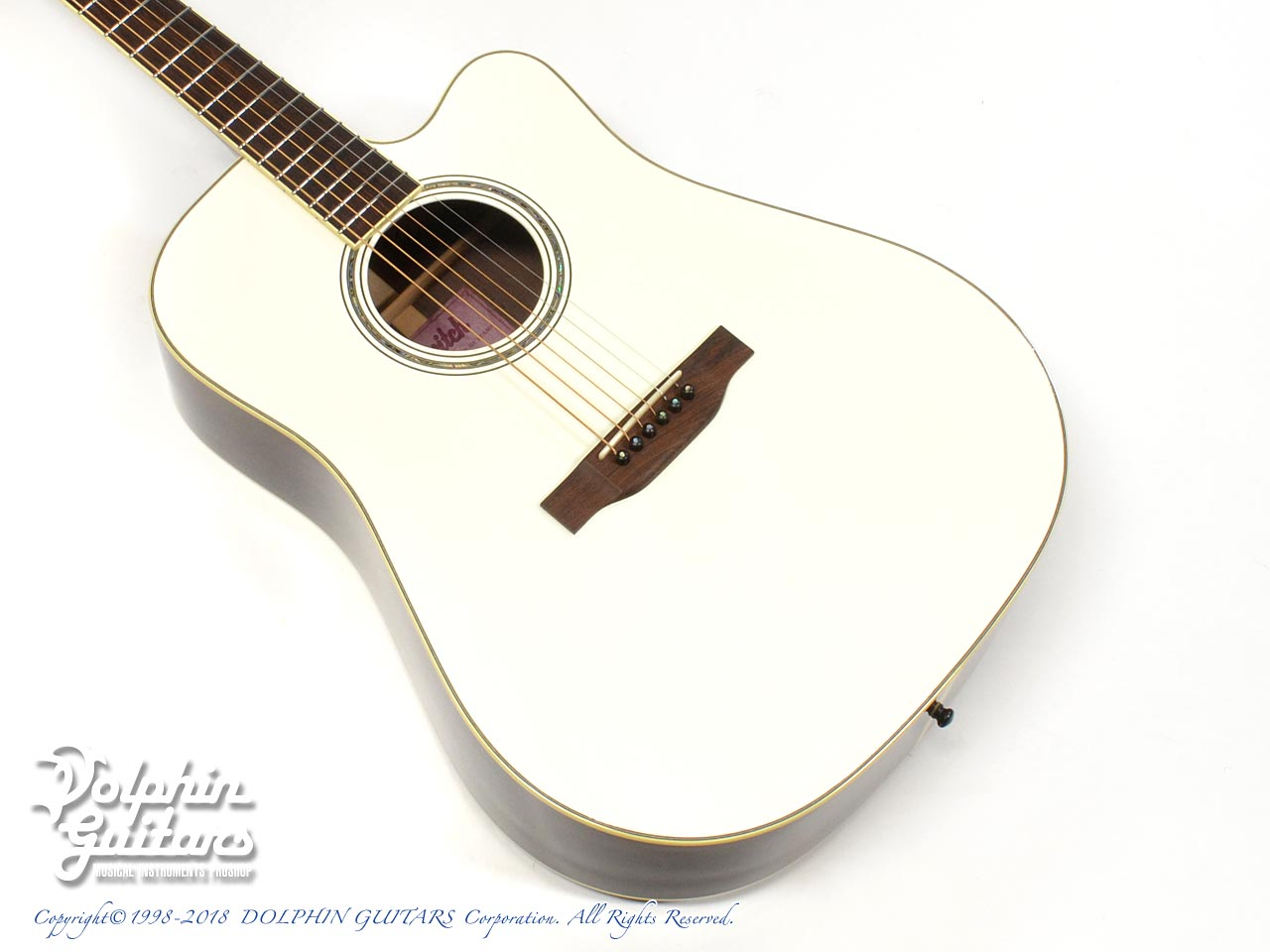 SWITCH: SCD-3C Caa Limited (Sitka Spruce & Cocobolo) (Pearl White Top)