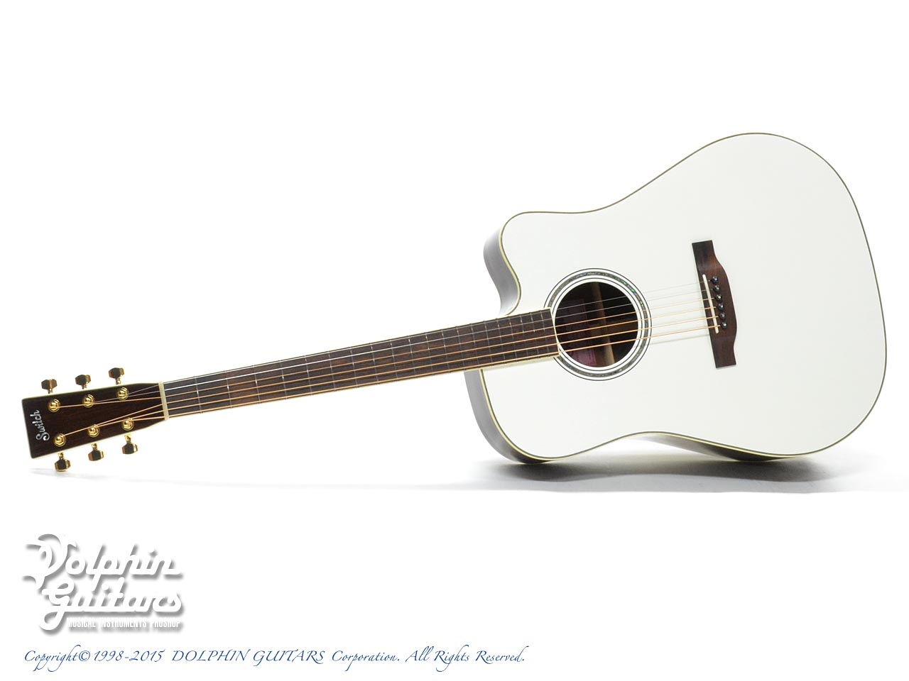 SWITCH  SCD-3C Caa Limited (Sitka Spruce AAA & Cocobolo) (Pearl White Top)
