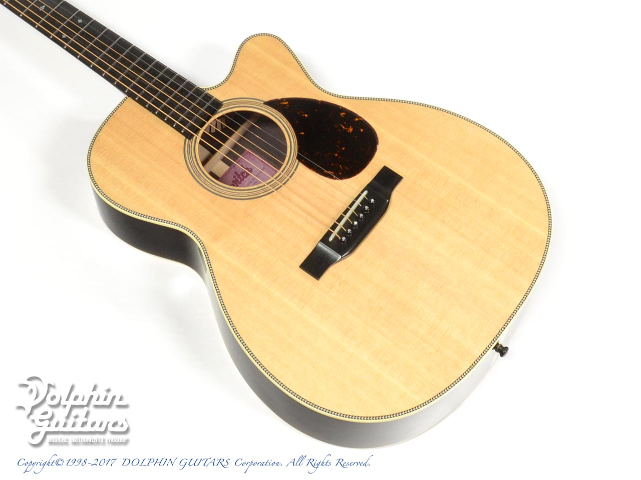 SWITCH:SCOM-2HC (Sitka Spruce & Indian Rosewood)
