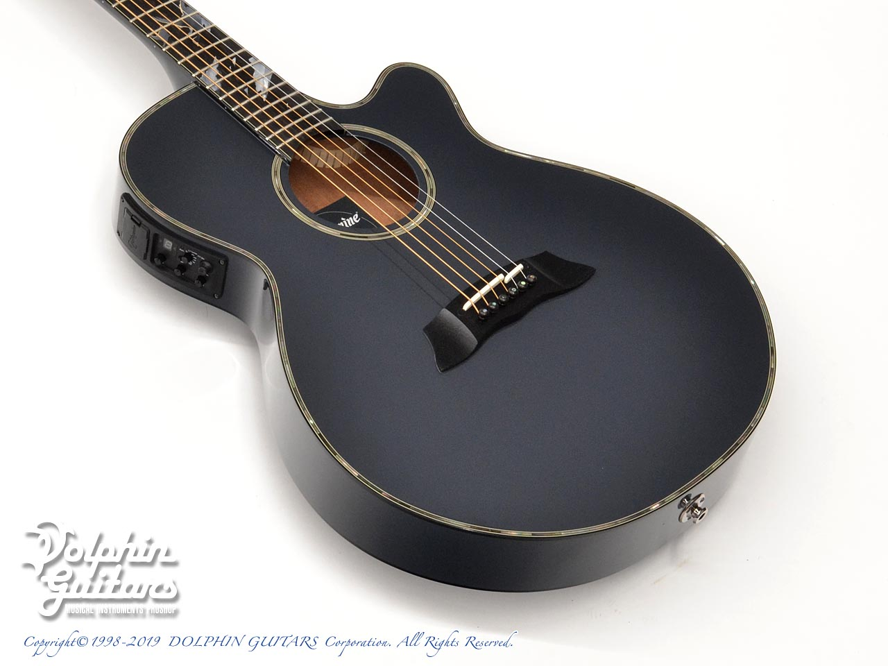 TAKAMINE:LTD2019 -Moon- (MIDNIGHT GRAY)