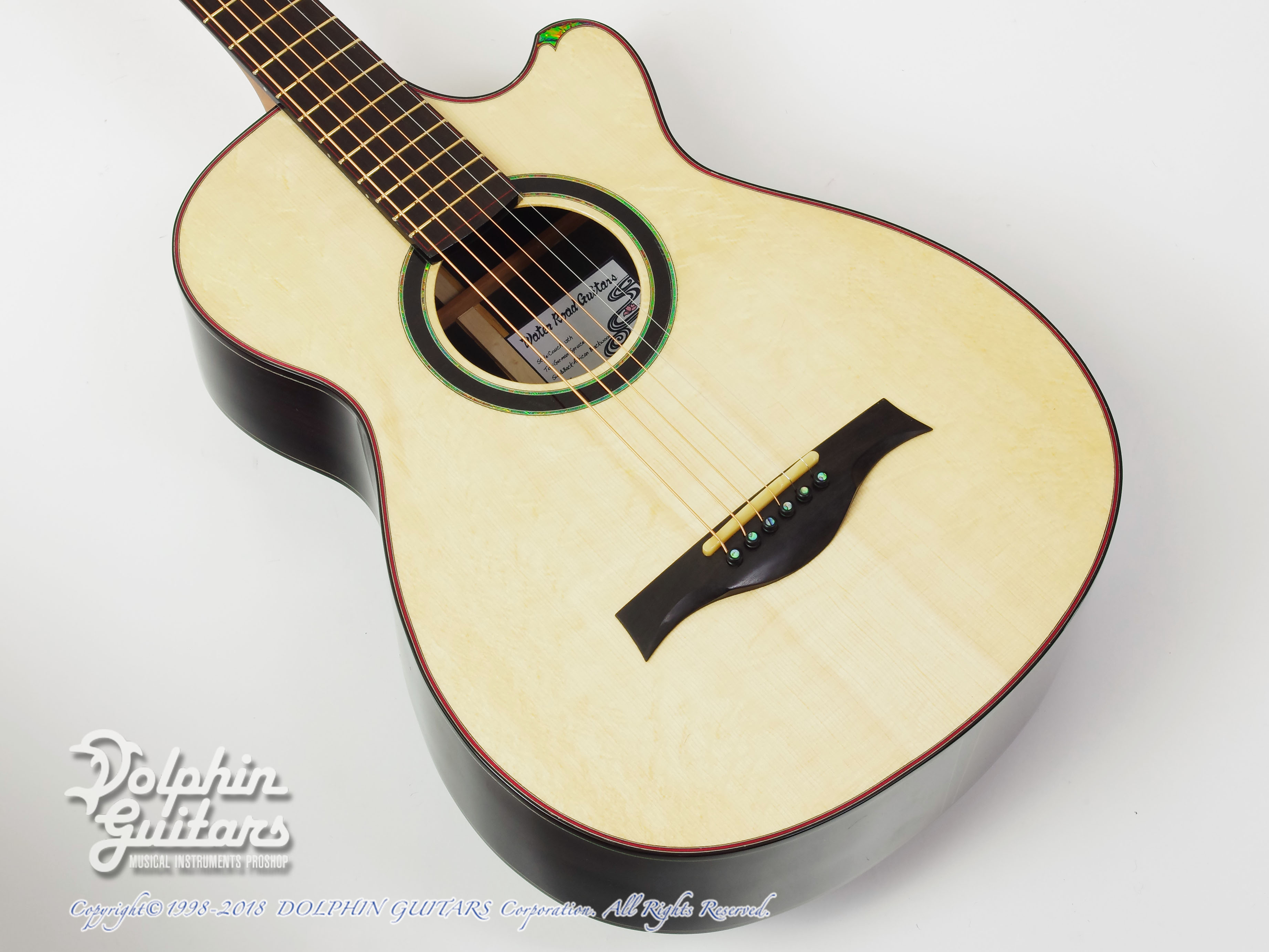 WATER ROAD GUITARS:Couchi (African Blackwood)