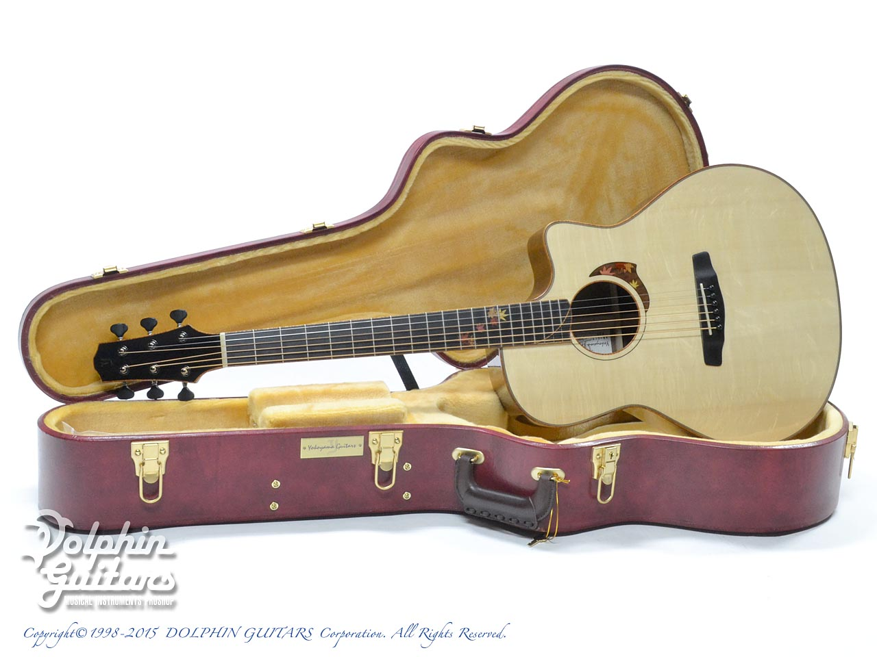 "YOKOYAMA GUITARS AR-GCW ""Autumn Leaves"" (Bear Claw German Spruce & Claro Walnut)"
