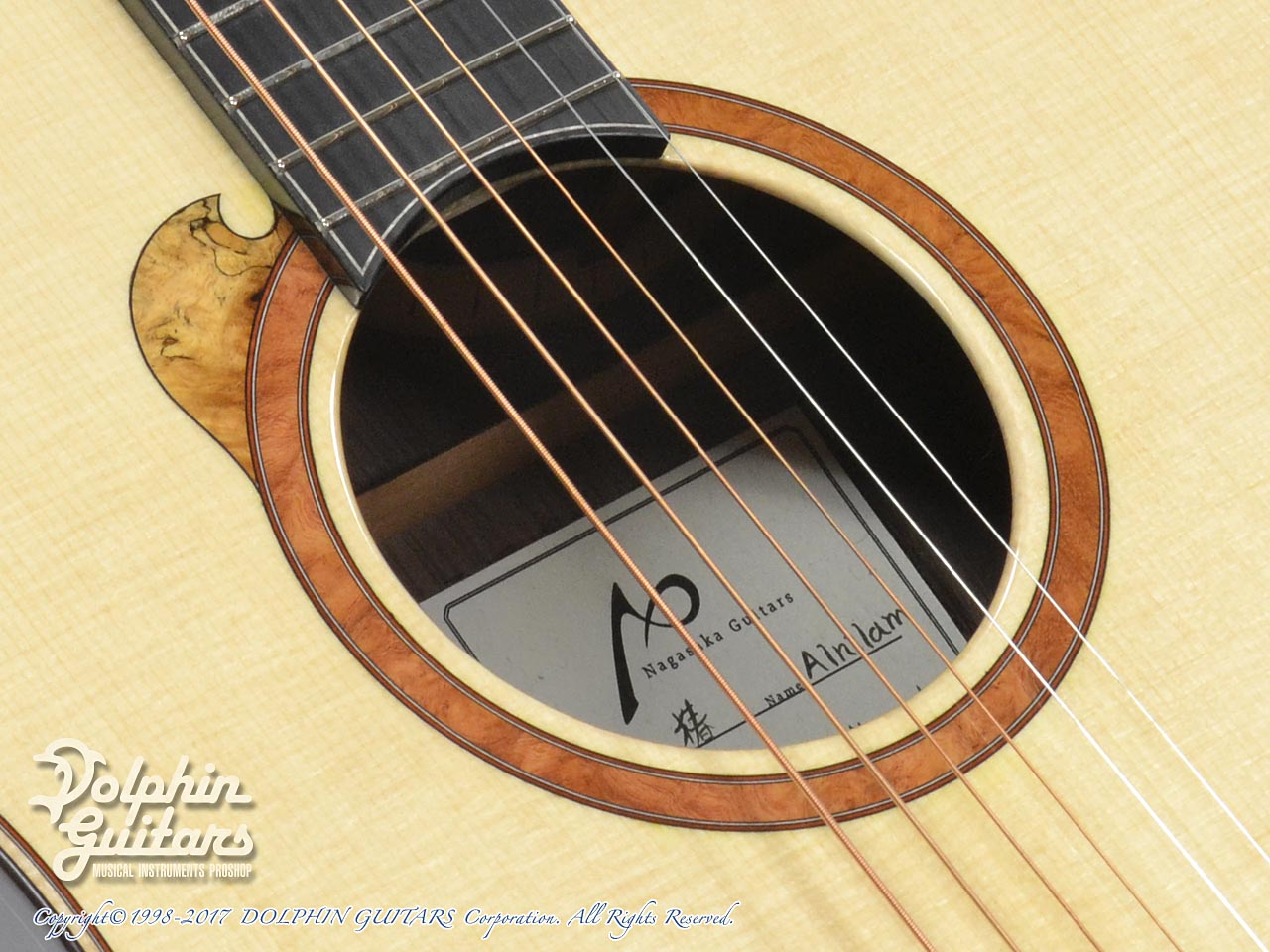 NAGASAKA GUITARS <Leaf Instruments>: 椿 Tsubaki (8)