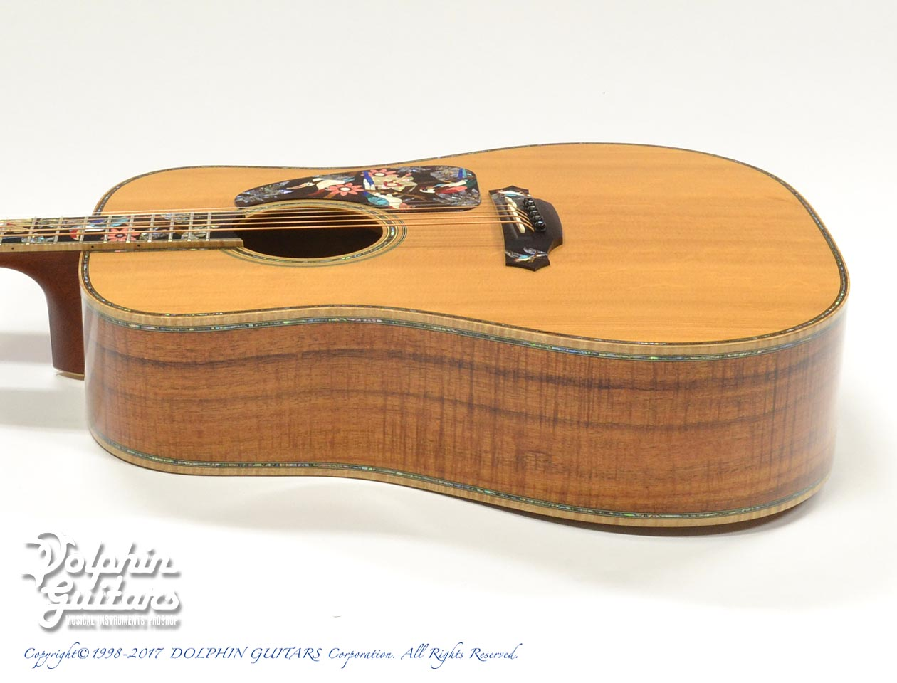 TAKAMINE: SAD-Birds Deluxe (Hawaiian Koawood) (2)