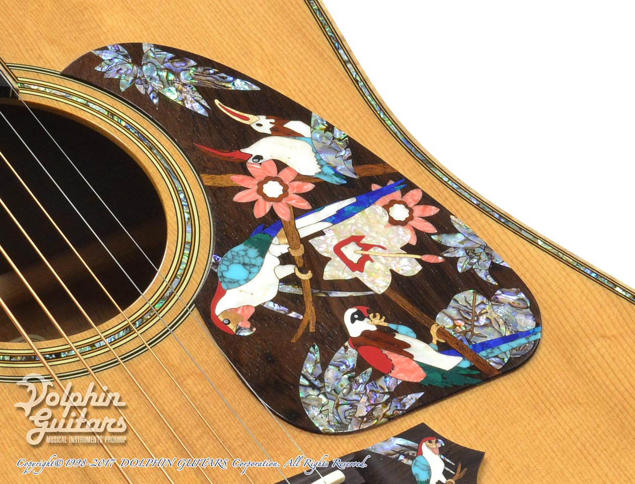TAKAMINE: SAD-Birds Deluxe (Hawaiian Koawood) (8)