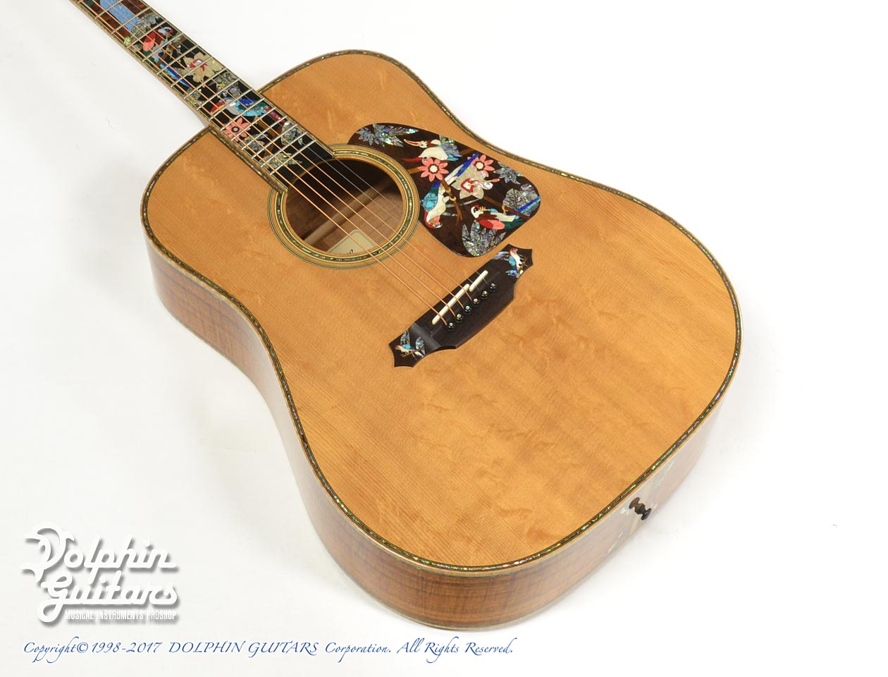 TAKAMINE: SAD-Birds Deluxe (Hawaiian Koawood) (1)