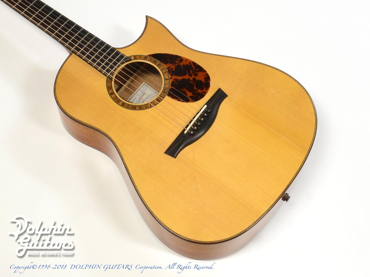 FURUYA GUITARS: Small D (Hawaiian koawood) (1)