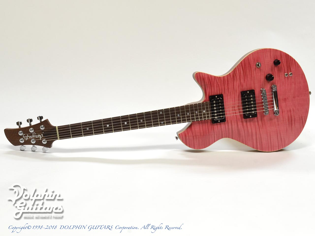 dragonfly: Maroon LH 648 (Transparent Pink) (0)