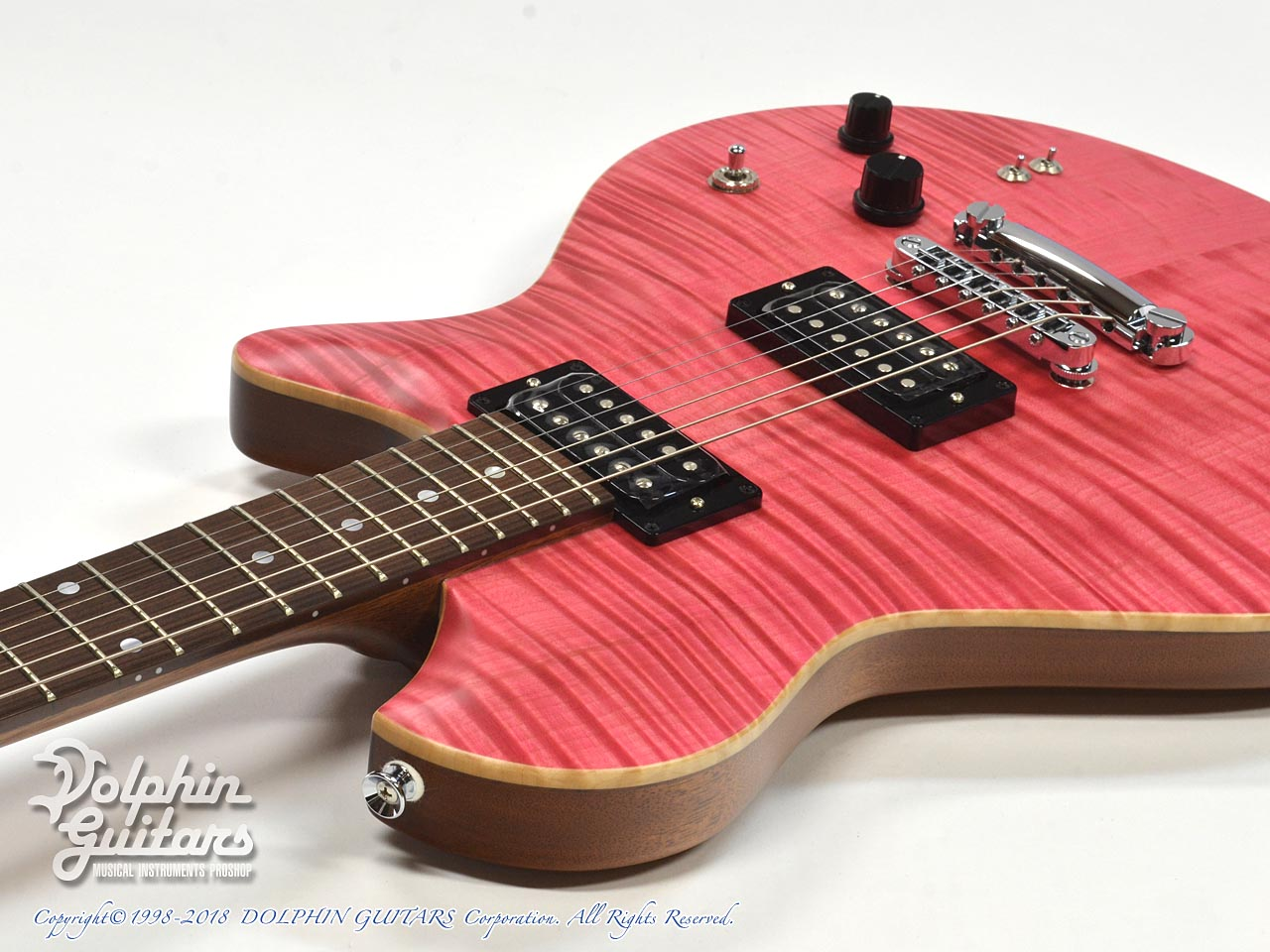 dragonfly: Maroon LH 648 (Transparent Pink) (9)