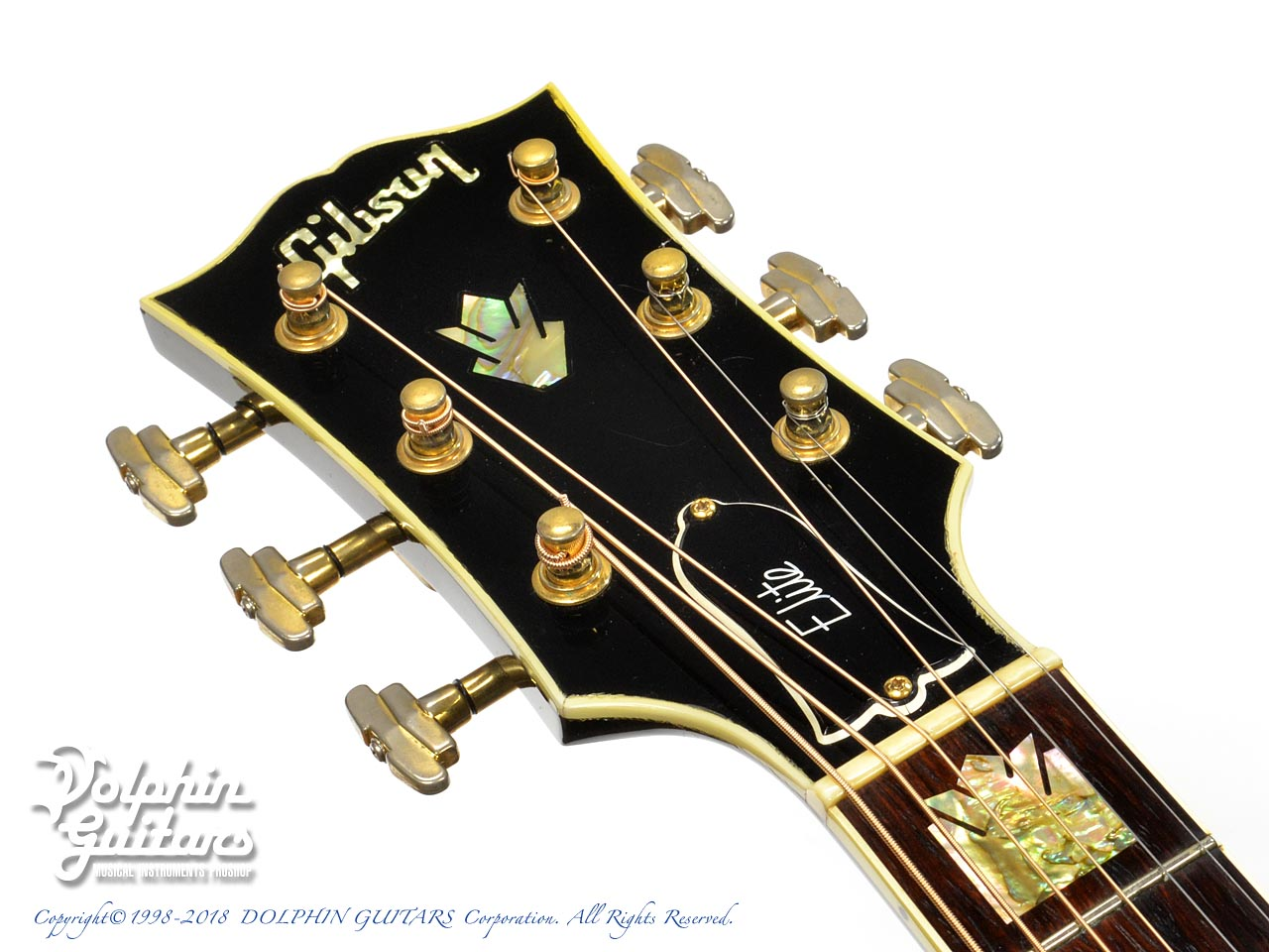 Gibson: J-200 ELITE Custom Ebony (6)