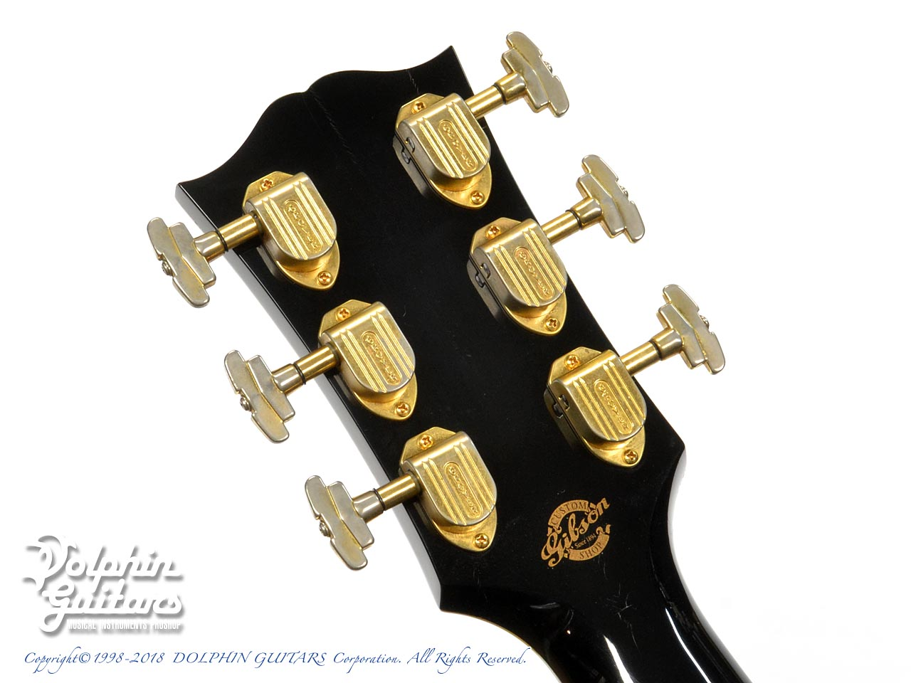 Gibson: J-200 ELITE Custom Ebony (7)