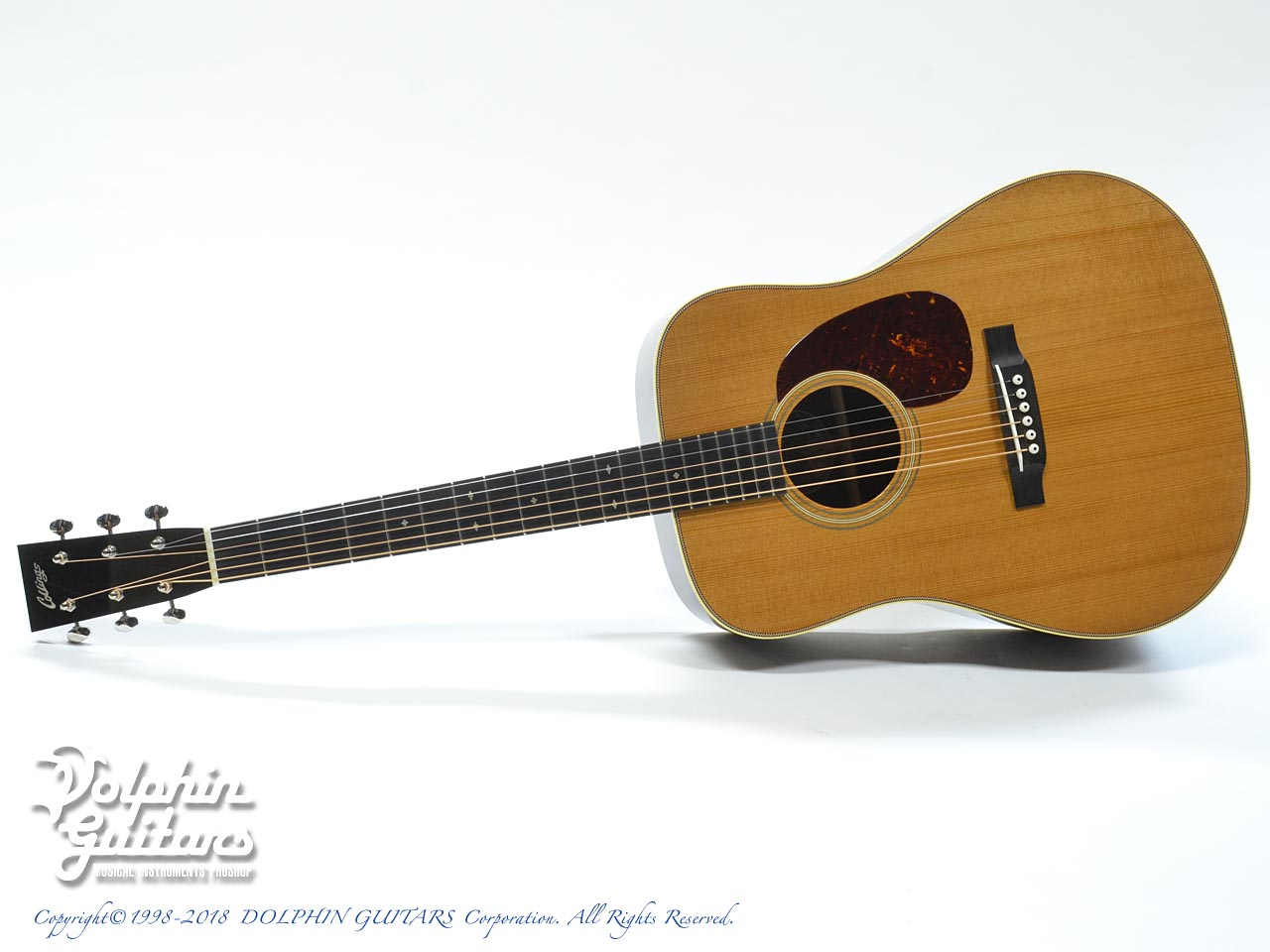 COLLINGS: D-2H A Traditional (Torrefied Adirondack Spruce) (0)