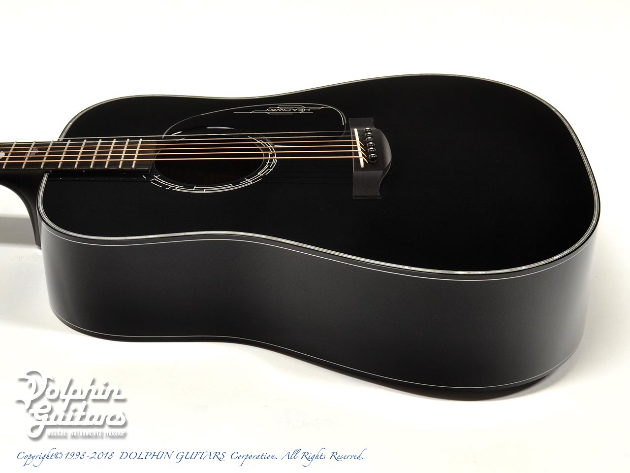 HEADWAY: HD-JET BLACK DX ( Adirondack Spruce & Indian Rosewood) (2)