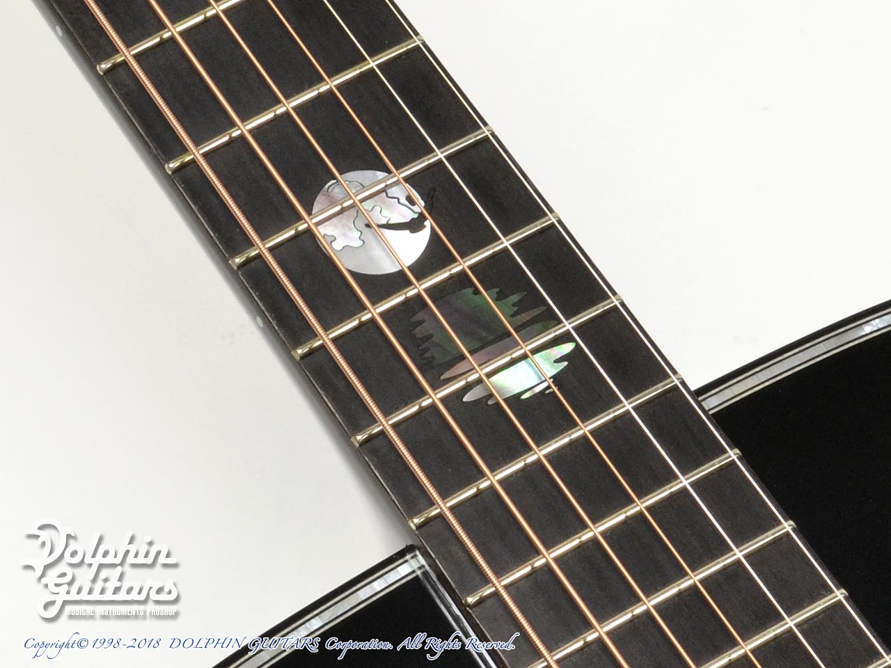 HEADWAY: HD-JET BLACK DX ( Adirondack Spruce & Indian Rosewood) (9)