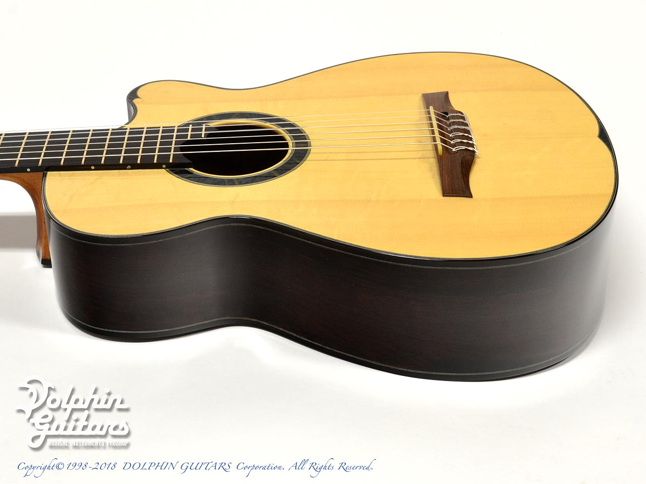 WATER ROAD GUITARS: Pulchra (Jacaranda) (2)