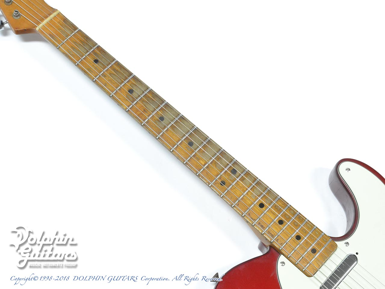 FENDER USA: Telecaster Candy Apple Red (5)