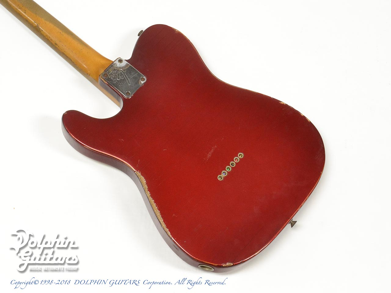 FENDER USA: Telecaster Candy Apple Red (3)