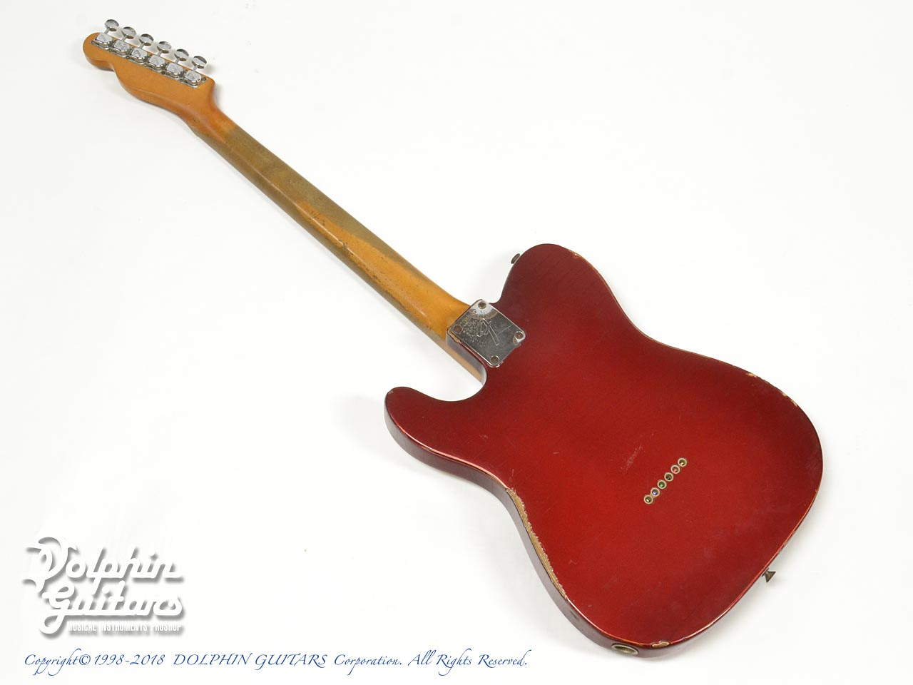 FENDER USA: Telecaster Candy Apple Red (4)