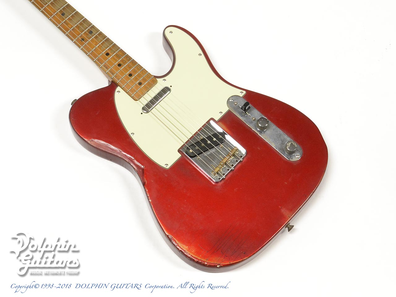 FENDER USA: Telecaster Candy Apple Red (1)