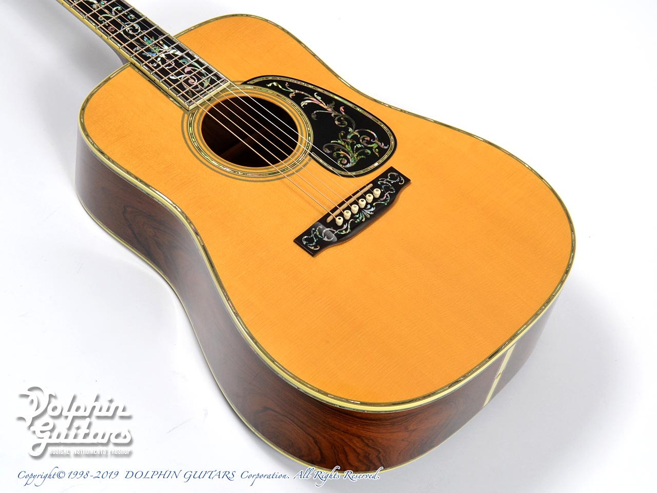 C.F.Martin: D-45  Deluxe Tree of Life (Brazilian Rosewood) (1)