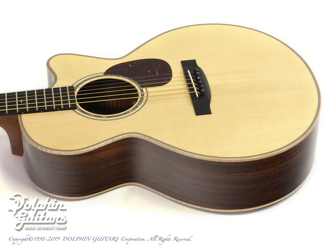Froggy Bottom: Model M Deluxe Rosewood Cutaway (Adirondack Spruce) (2)