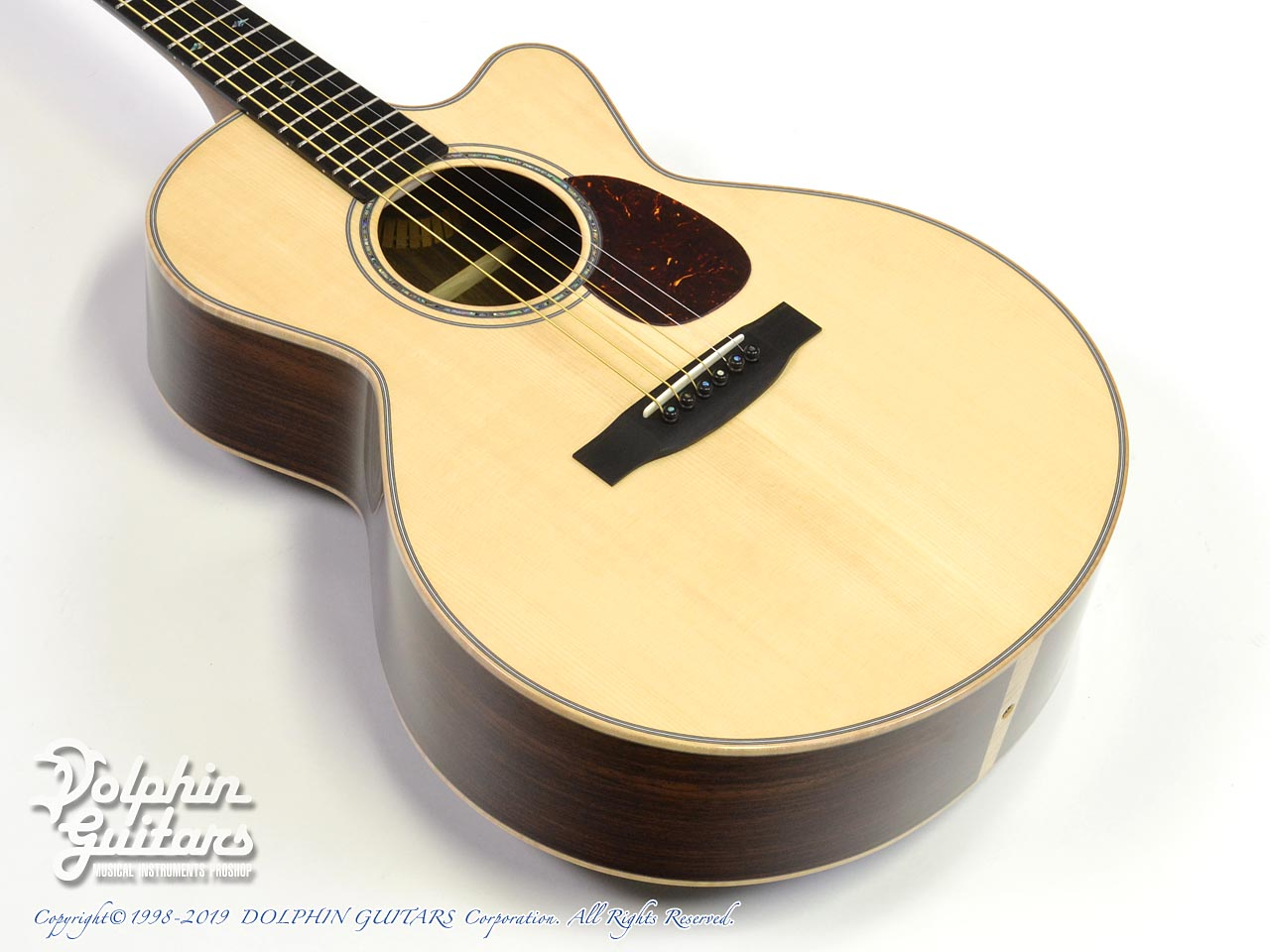Froggy Bottom: Model M Deluxe Rosewood Cutaway (Adirondack Spruce) (1)