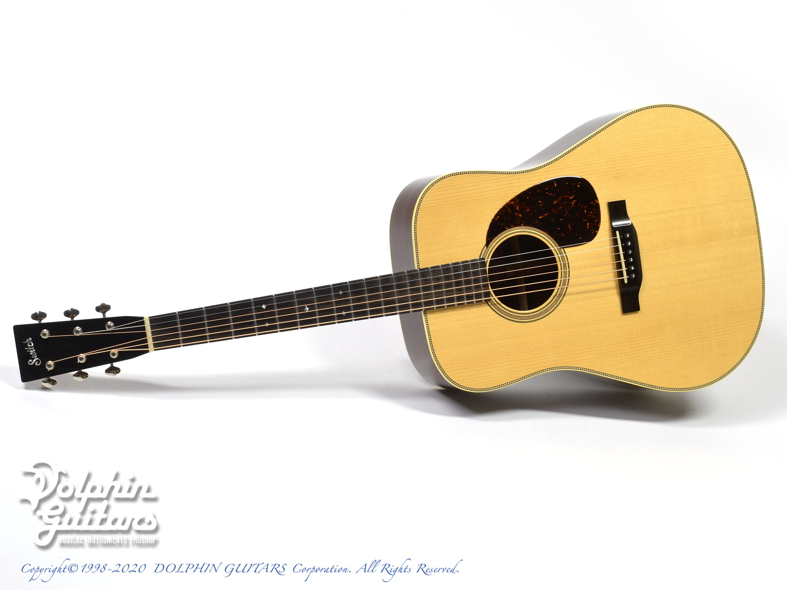 SWITCH: SCD-2H A (Adirondack Spruce & Indian Rosewood) (0)